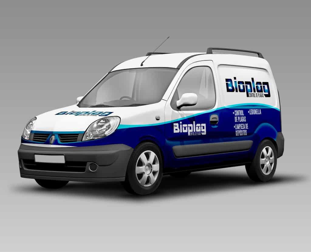 Rotulación para la flota de Bioplag