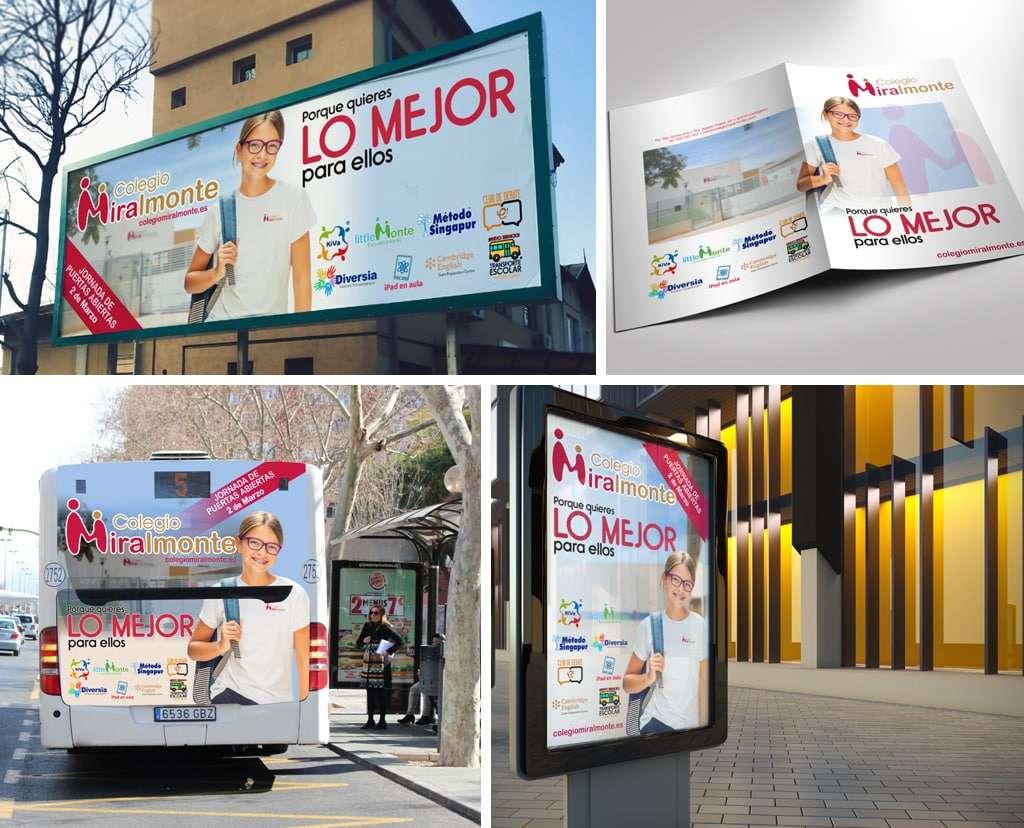 Campaña para Colegio Miralmonte