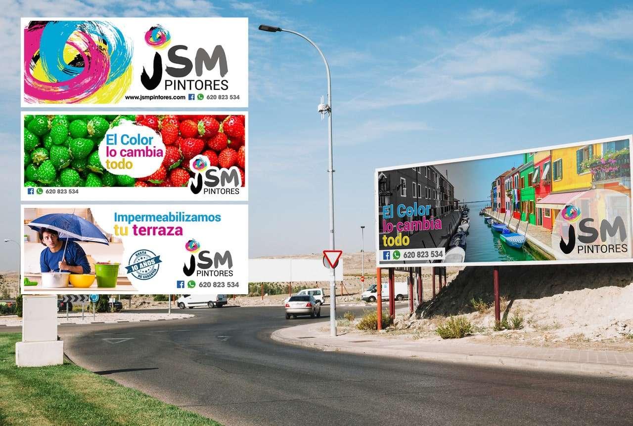 JSM Pintores vallas