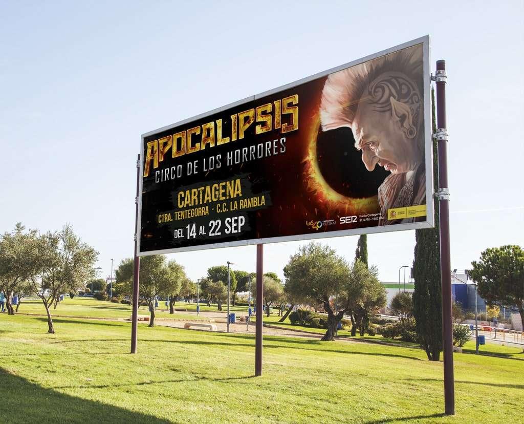 Valla para Apocalipsis, Circo de los Horrores